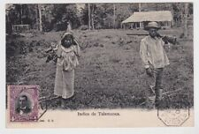 Costa Rica Postcard Indios de Talamanca 1907 JBP