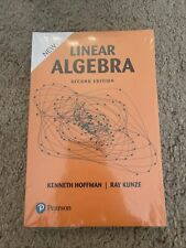 Linear Algebra Second Edition by Hoffman Kenneth & Ray Kunze New in Plastic
