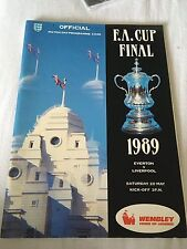Everton v Liverpool 1989 FA cup final