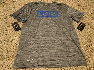 Nike 2020 Dri-fit Detroit Lions Legend Velocity Shirt Men's  Size: Medium NWT