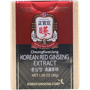 Korean Red Ginseng Extract, 1.06 oz (30 g)