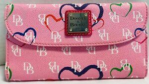 *Dooney & Bourke*Sweetheart*Pink* Continental Clutch Wallet*21147V S167B
