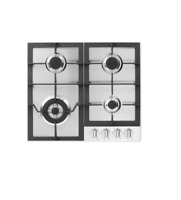 """Fisher Paykel CG244LWFX1 24"""" Stainless Drop-In LP Gas Cooktop NIB MAD"""