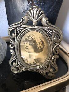 cornice in argento 925 Stile Liberty Vintage