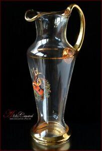 "Bohemia Glass Water Decanter H30 cm, V1250 ml, ""Royal Hunt"" New!"