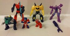 Lot of 6 Transformers Robots in Disguise Toys