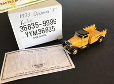 MATCHBOX 1933 CATERPILLAR Diamond T Truck Pioneers Progress Collection YYM36835