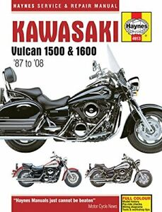 Kawasaki Vulcan 1500 & 1600 1987-2008 (Haynes Service & Repair Manual), Good Boo
