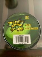2 Spools Mudville Catmaster monofilament fishing line green 40lb/250yds(each)