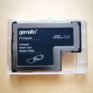 New Genuine Lenovo Gemalto 54mm ExpressCard Smart Card Writer Reader FRU 41N3043