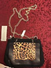Cheetah / Leopard Purse - Silver Color Hardware - USA Seller - Fast Shipping