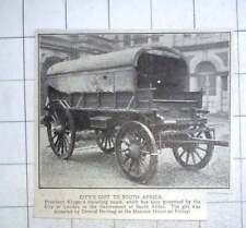 1926 President Kruger's Travelling Coach Gift To South Africa