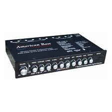 AMERICAN BASS AB-7B-V American Bass High End 7 Band Equalizer Voltage Display
