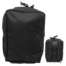 schwarze kleine Gürteltasche tactische Tasche Molle Täschen Einsatztasche