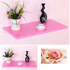 Great Pink  Wall Mount Floating Folding Computer Desk Home Office PC Table