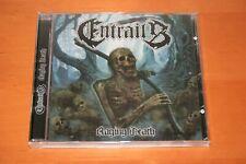 """ENTRAILS """"Raging Death"""" CD 2013 SWE Death Metal ENTOMBED GRAVE DISMEMBER SORCERY"""