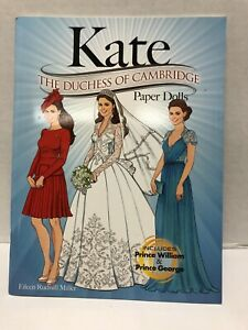 Dover KATE: the Duchess of Cambridge Paper Dolls by Eileen Rudisell Miller New