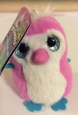 """hatchimals Plush Clip On 6"""" Tall W/ Clip Pink/ Turquiose New"""