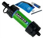 Sawyer Mini Water Filter Filtration System Green New In Box Free Shipping