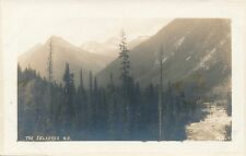 BRITISH COLUMBIA BC – The Selkirks Real Photo Postcard rppc