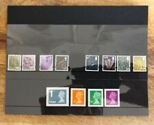 GB 2012 New Definitives stamp sets. UNMOUNTED MINT/MNH