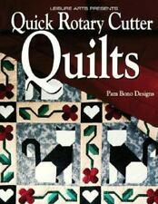 """Pam Bono Designs' """"Quick Rotary Cutter Quilts"""" - 33 Patterns"""