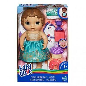 Baby Alive Cupcake Birthday Baby Doll