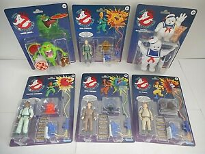 THE REAL GHOSTBUSTERS 6 figurines kenner classic SOS Fantômes série tv vintage