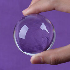 "LONGWIN 50mm 1.97"" D Quartz Crystal Ball Healing Crystals Sphere Photo Props"