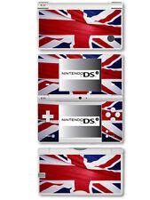GRAN BRETAGNA BANDIERA (Union Jack) Autoadesivo Sottile Vinile per Nintendo DSi