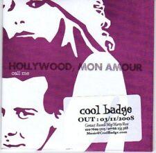 (L498) Hollywood Mon Amour, Call Me - DJ CD