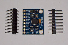 1 PC OF A MPU-6050 3 AXIS GYROSCOPE+ACCELEROMETER , ARDUINO COMPATIBLE , 3.3, 5V