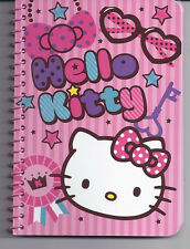 Sanrio Hello Kitty Spiral Notebook Glasses Keys