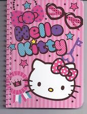 Sanrio Hello Kitty Spiral Notebook Glasses Keys
