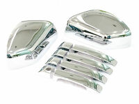 Chrome Door Handle & Wing Mirror Covers Trim for Range Rover Vogue L322 05-09