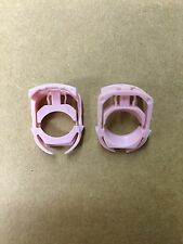 "Set of 2: Pink Nylon Ford 3/8"" Fuel Line Clips 7L3Z-9S317B USA Seller Free Ship"