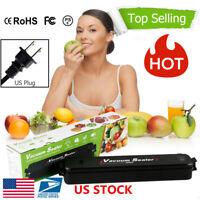 Food Vacuum Sealer System Storage Saver Bags Kitchen Sealing Machine Kit US Plug