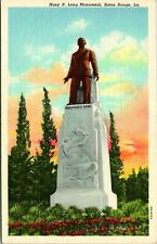 Baton Rouge LA Huey P Long Monument Postcard unused (13070)