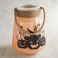 BRAND NEW NWT PIER I PUMPKIN LANTERN  HURRICANE  CANDLE HOLDER, NEW