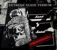 "Extreme Noise Terror – Phonophobia 12"" Vinyl / New Re (2016) Hardcore Punk"