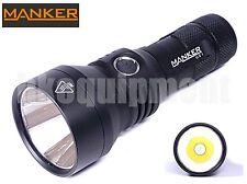 MANKER U21 Cree XHP35 HI Cool White LED 1300lm 18650 USB Flashlight