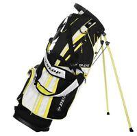Dunlop Lite Stand Bag Golf Sports Accessories Black/White/Lim One Size R86-1