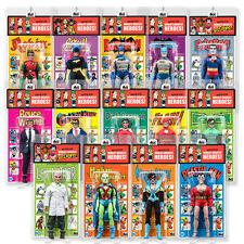 DC Comics Retro Mego Kresge Style Action Figures Series 4: Complete set of 14