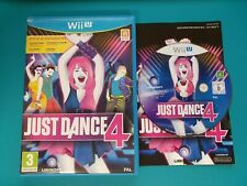 NINTENDO WiiU : just dance 4