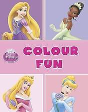Disney Princess Colour Fun by Parragon (Paperback, 2012)