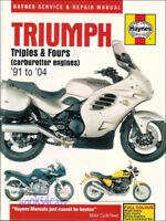 TRIUMPH SHOP MANUAL SERVICE REPAIR BOOK HAYNES TRIPLES FOURS CHILTON 1991-2004