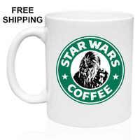 Star Wars Coffee, Chewbacca, Gift Mug 11oz