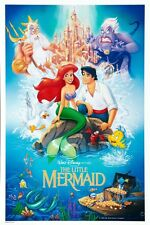 "THE LITTLE MERMAID MOVIE - DISNEY POSTER  - 12"" x 18"""