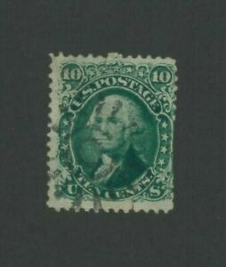 1861 United States Postage Stamp #68 Used F/VF Postal Cancel
