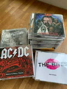 CD Sammlung Metal, Alternative, Indie & Rock. Über 50 Stück, rare Maxis,Promos e
